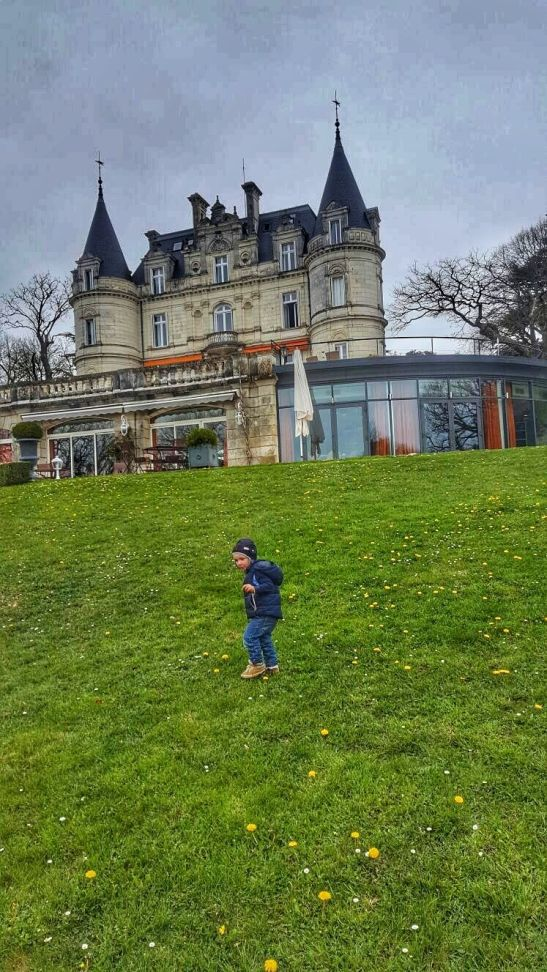Chateau La Tortiniere - France road trip with kids