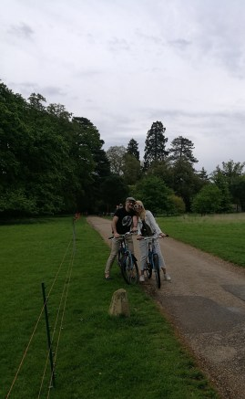 The Ickworth Hotel cycling