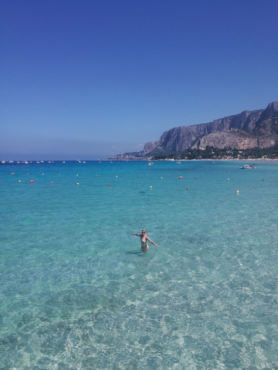 Palermo with kids. Mondello seaside