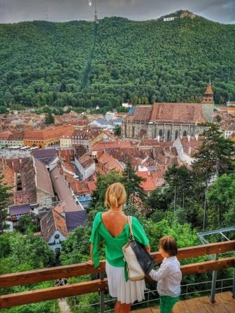 Top things to do in Brasov with kids: Turnul Alb - soak in the views