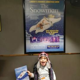 Snowman at the Peacock theatre