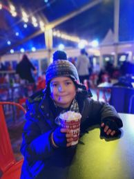 Tower of London ice rink cafe 2019