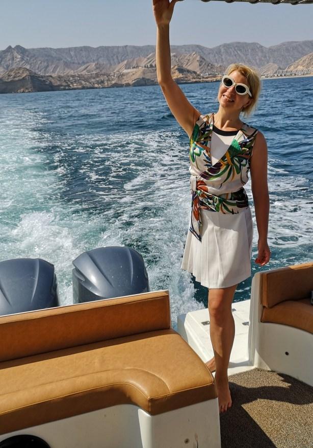 Sailing around Muscat
