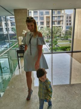 Kempinski hotel Muscat with kids