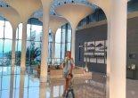 Kempinski hotel Muscat lobby