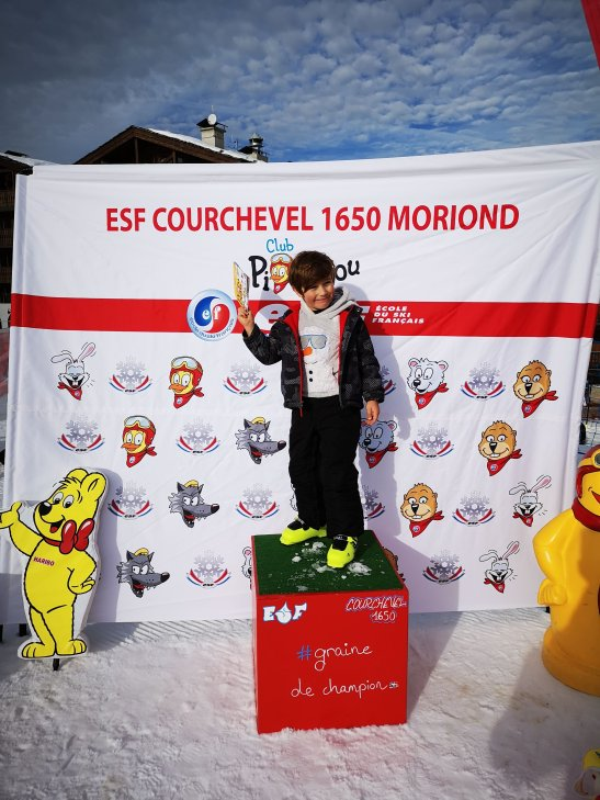 ESF ski school Courchevel 1650 - awards day