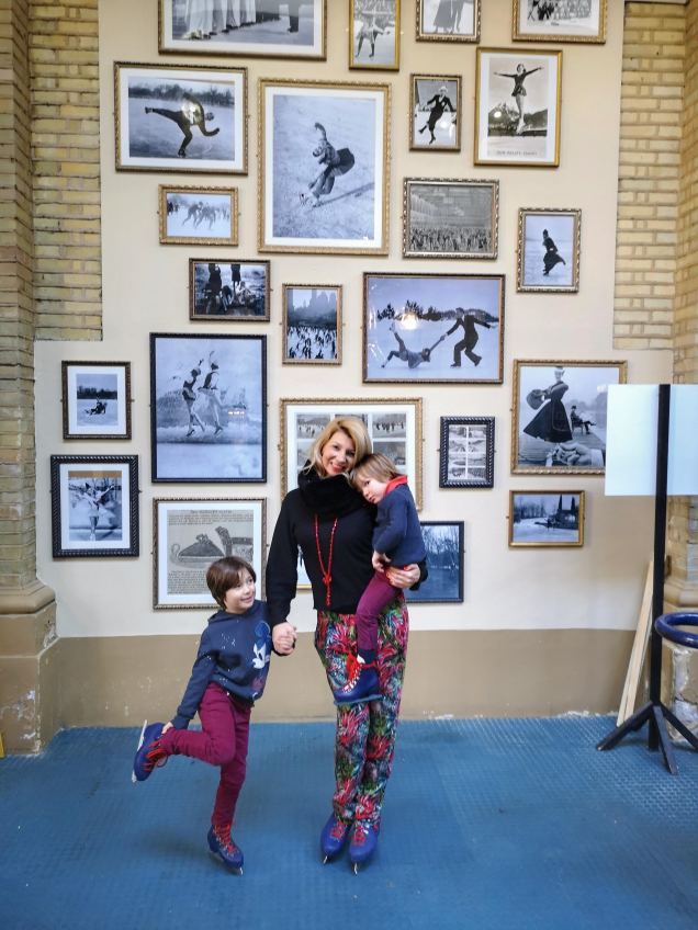 Alexandra palace iceskating with kids