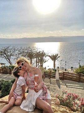 Dead Sea Marriott sunset