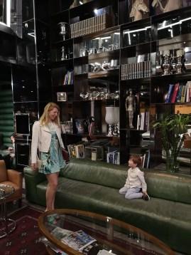 Holidays to Tel Aviv with kids - Alexander hotel bar