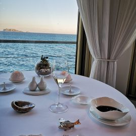 Le Petit Nice dining 3 star Michelin with Gerald Passedat - just wow - luxury holidays in Marseille