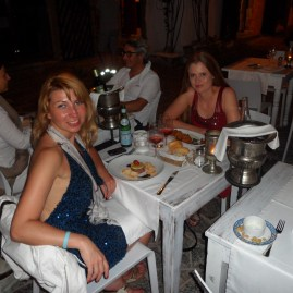 Ibiza old town late dining