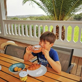 Breakfast with a view @ Sant Joan de Binissaida