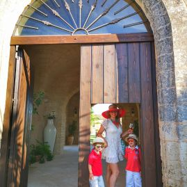 Masseria Chicco Rizzo with kids