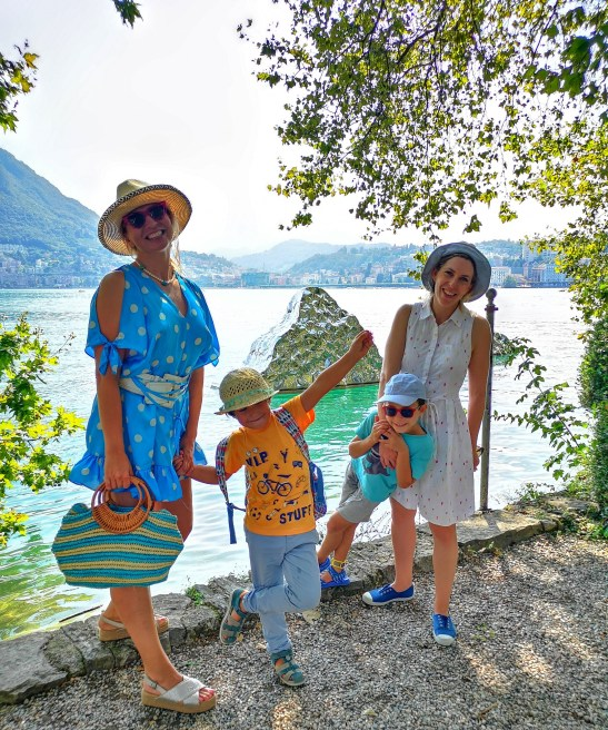Lugano lake - Ticino with kids