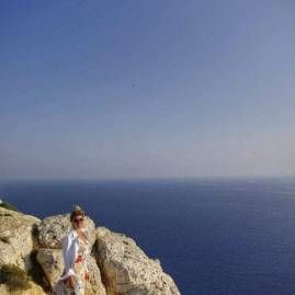 Agia Napa : exploring seacaves