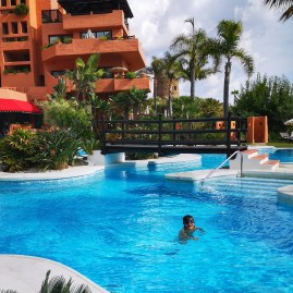 Kempinski hotel Estepona warmed up pool