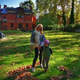 Leighton house garden