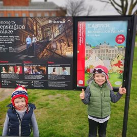 Chelsea for kids - Easter at Kensington Palace
