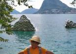 Lugano lake
