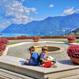 Villa Principe Leopoldo Lugano with kids