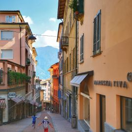 Lugano historical centre