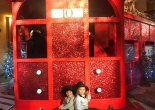 London n December with kids #CulturedKids #52 Claridges Loubi Express