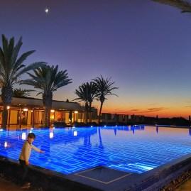 Essaouira in December sunset