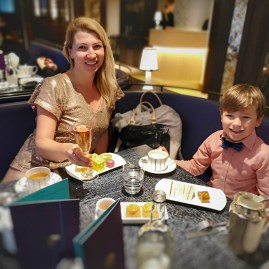 Charlie and Chocolate factory afternoon tea London
