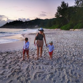 Anse Intendance Seychelles with kids