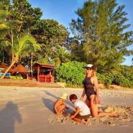 Sunset Anse Intendance Seychelles