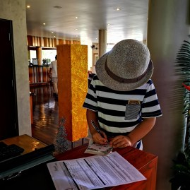 Kempinski Seychelles with kids - VIP check in dedicated desk