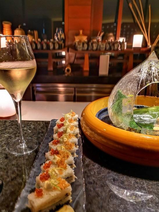 Best sushi in Mahe Seychelles : Koi, Four Seasons