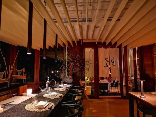 Koi counter, Four Seasons