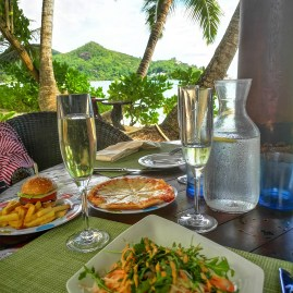Kempinski Seychelles lunch