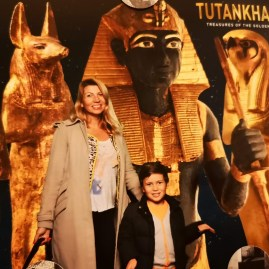 London in February 2020 : Boy king Tut at Saatchi
