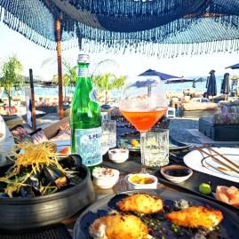Glorious fine dining at Seaside Santorini
