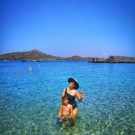 Elounda beach crystal waters