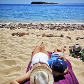 Algarve with kids : Sagres beach