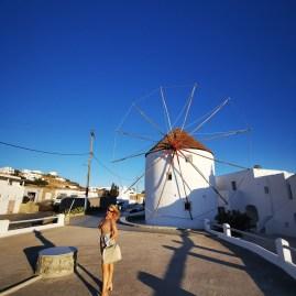 Mykonos signature windmills