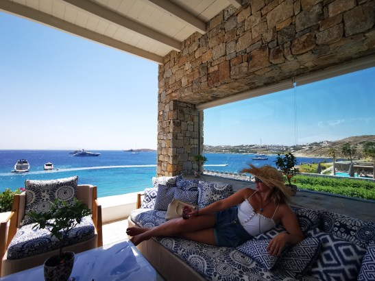 Social Mykonos, one scenic place to chill