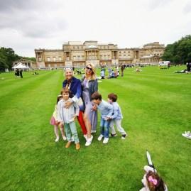 Cultured Kids London September 2021 : picnic at Buckingham palace gardens