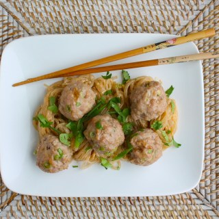 Ginger Scallion Pork Meatballs (Guest Post at Paleo Parents)