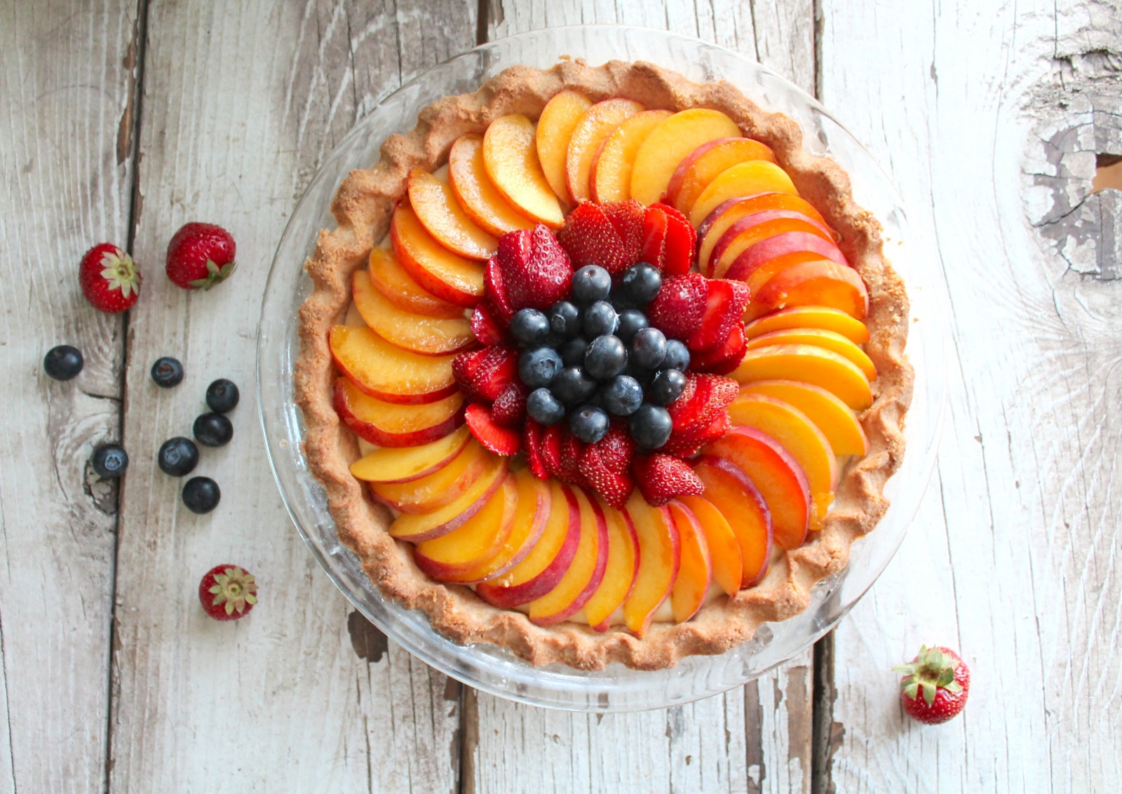 ... custard fruit tart, try it simply layered with fresh fruit as a