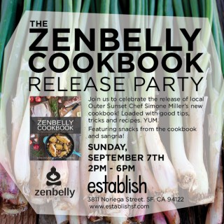 Zenbelly Cookbook Release Party!