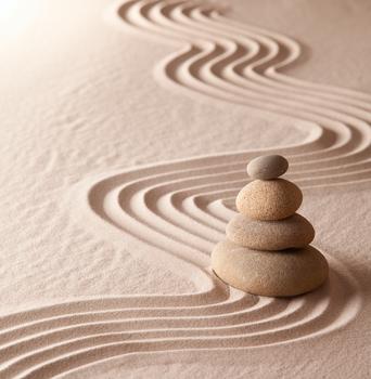 Stillness zen garden