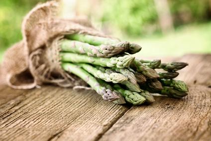 Taste asparagus