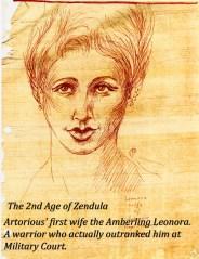astel artorius wife leonora young