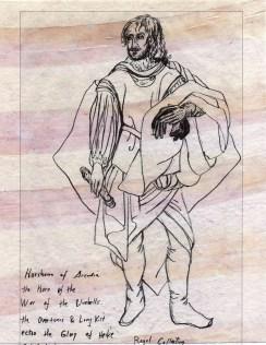 horshan as hero of bluebells a la heike glory acadian art