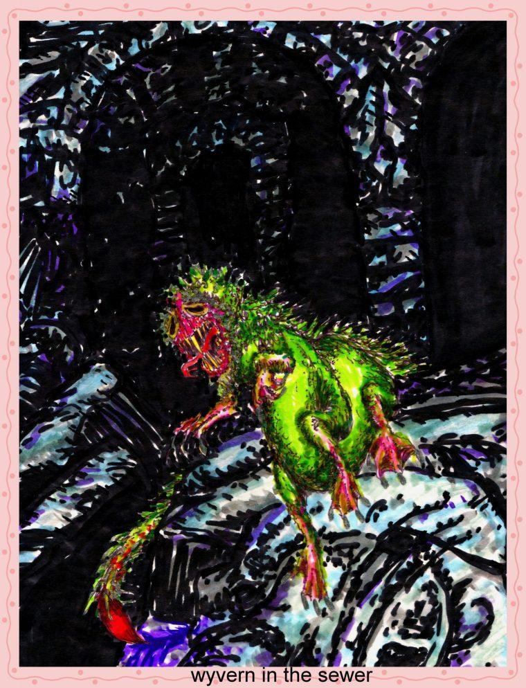 monster-wyvern-in-sewer-zendula