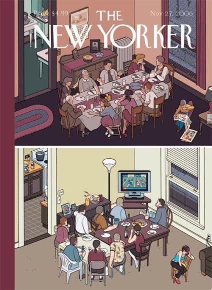 TV Family - Couverture du magazine américain